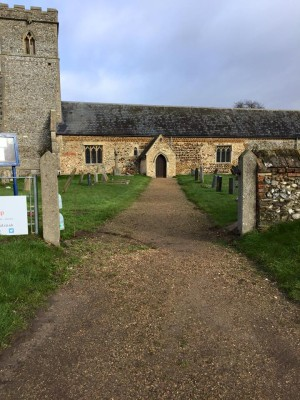 pentney church before