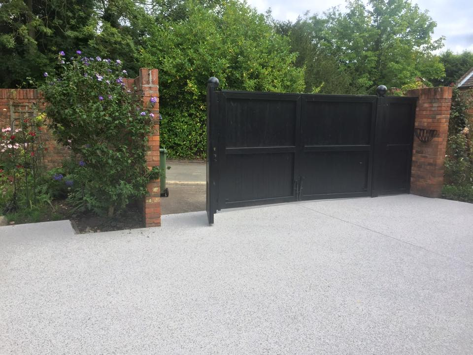 resin driveways Norfolk